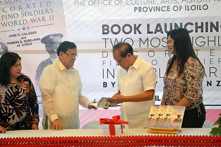Lawmaker launches book on 2 bemedaled Ilonggo soldiers