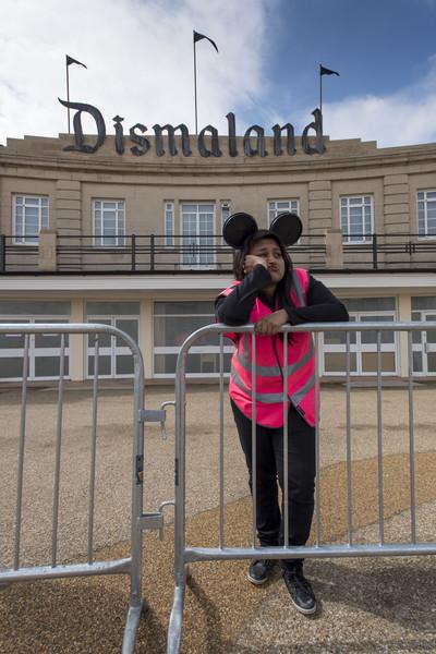 Banksy Unveils Dismaland Bemusement Park in Weston-Super-Mare