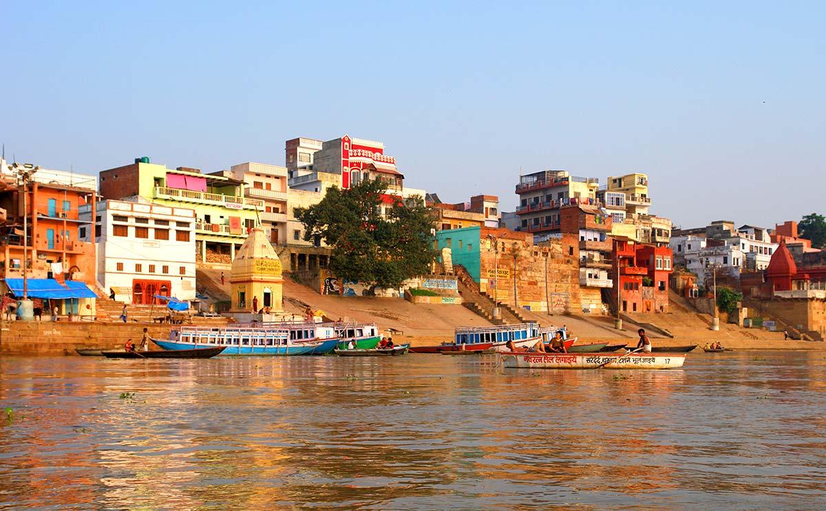 Río Ganges, Benarés, India