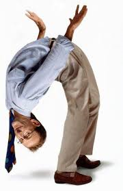 He will bend over backwards to help you. enter image description here
