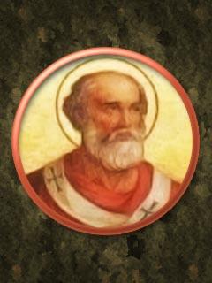 An image of Saint Benedict II