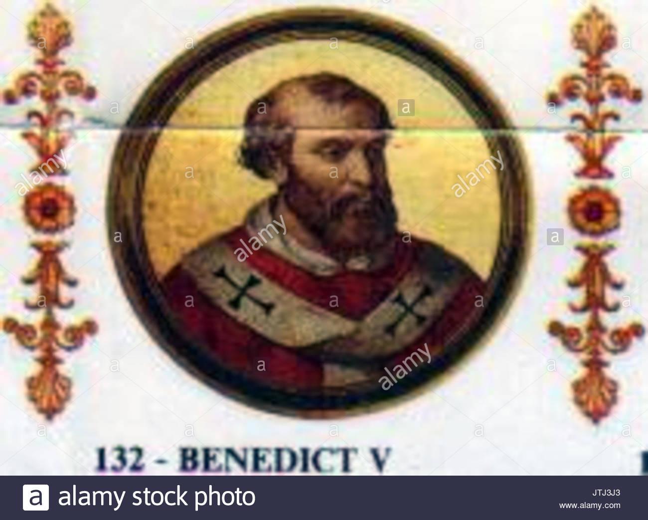 Pope Benedict V of Rome 964 965