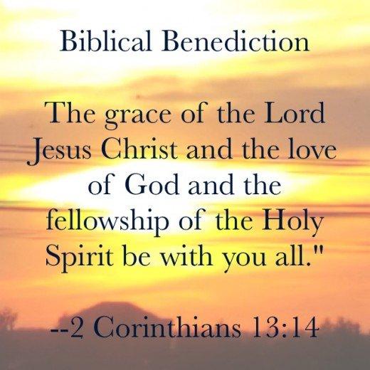 Biblical Bendiction