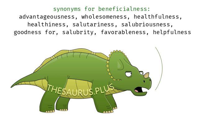 Similar words of beneficialness