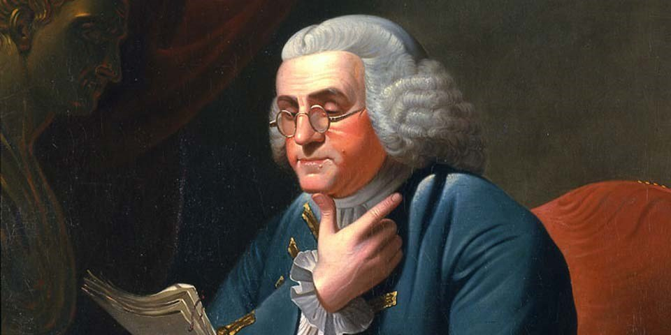 10 frases de Benjamin Franklin