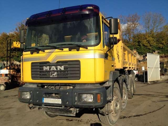 Volquete camión MAN MAN 8/4 BENNE FE410A: foto 1