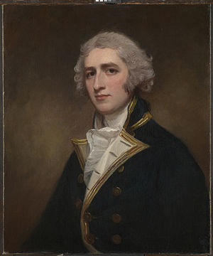 Portrait of William Bentinck painted 1788 by George Romney
