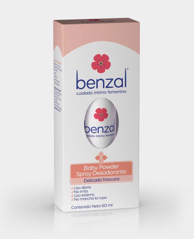 Benzal® Spray Desodorante Baby Powder