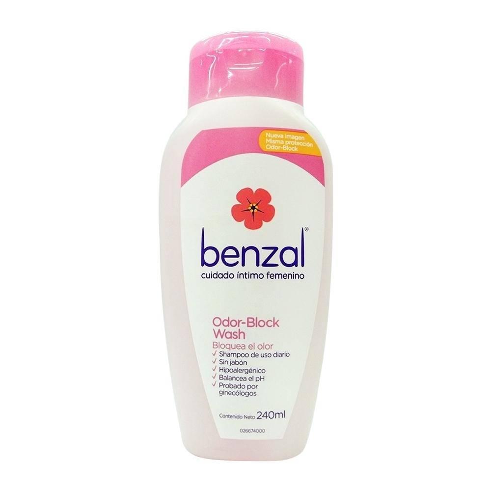 Shampoo íntimo Benzal odor block wash 240 ml
