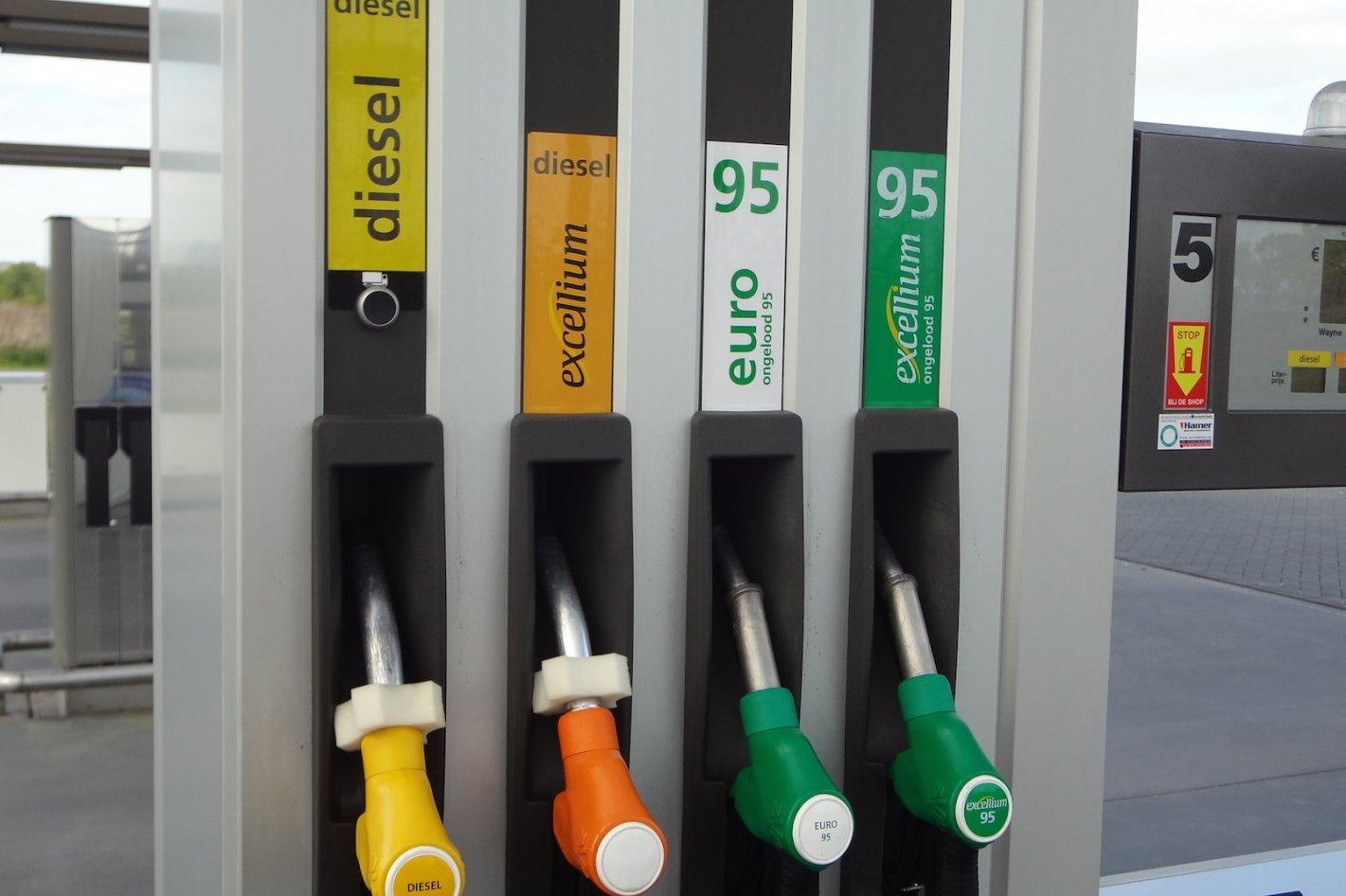 Naamsverandering voor benzine en diesel