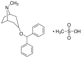 Benztropine mesylate ≥99% (TLC), powder