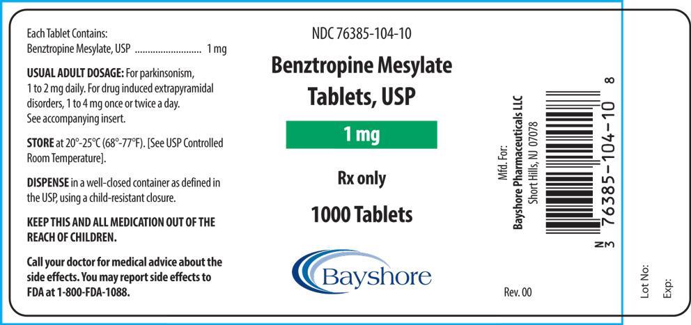 1000ct.1mgBenztropineMesylateTabletsUSPFLcleanRev.2