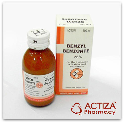 Benzyl Benzoate, Usage: Hospital