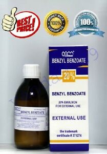 Image is loading Benzyl-Benzoate-Emulsion-20-external-Best-Price