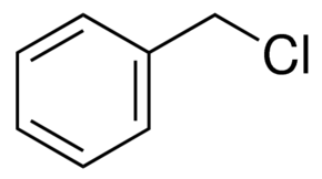 Benzyl chloride ReagentPlus®, 99%, contains ≤1% propylene oxide as  stabilizer