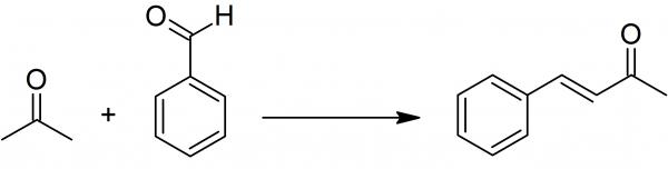 Preparation of benzylideneacetone