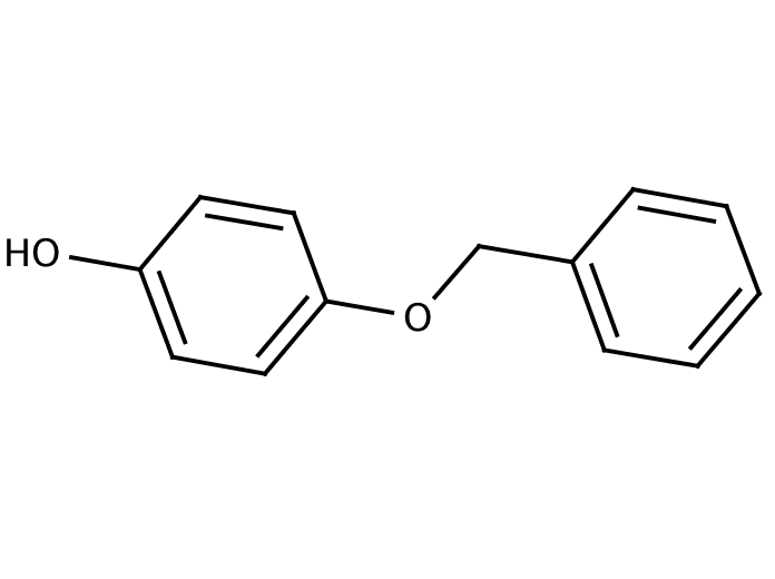 Structure for 4-(Benzyloxy)phenol (103-16-2)