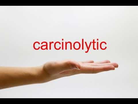 How to Pronounce carcinolytic - American English
