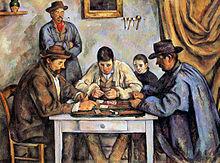 The Card Players, 1890–1892, Barnes Foundation, Philadelphia, Pennsylvania