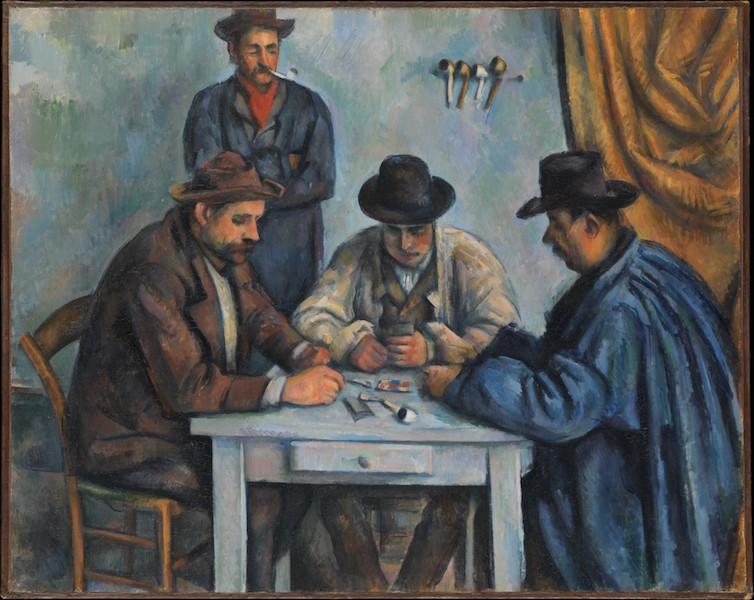 Paul Cézanne, The Card Players, 1890-92, oil on canvas, 65.4