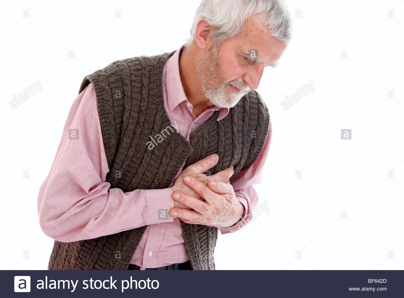 senior with cardialgia .