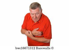 Cardialgia Art Print Poster - Heart Attack