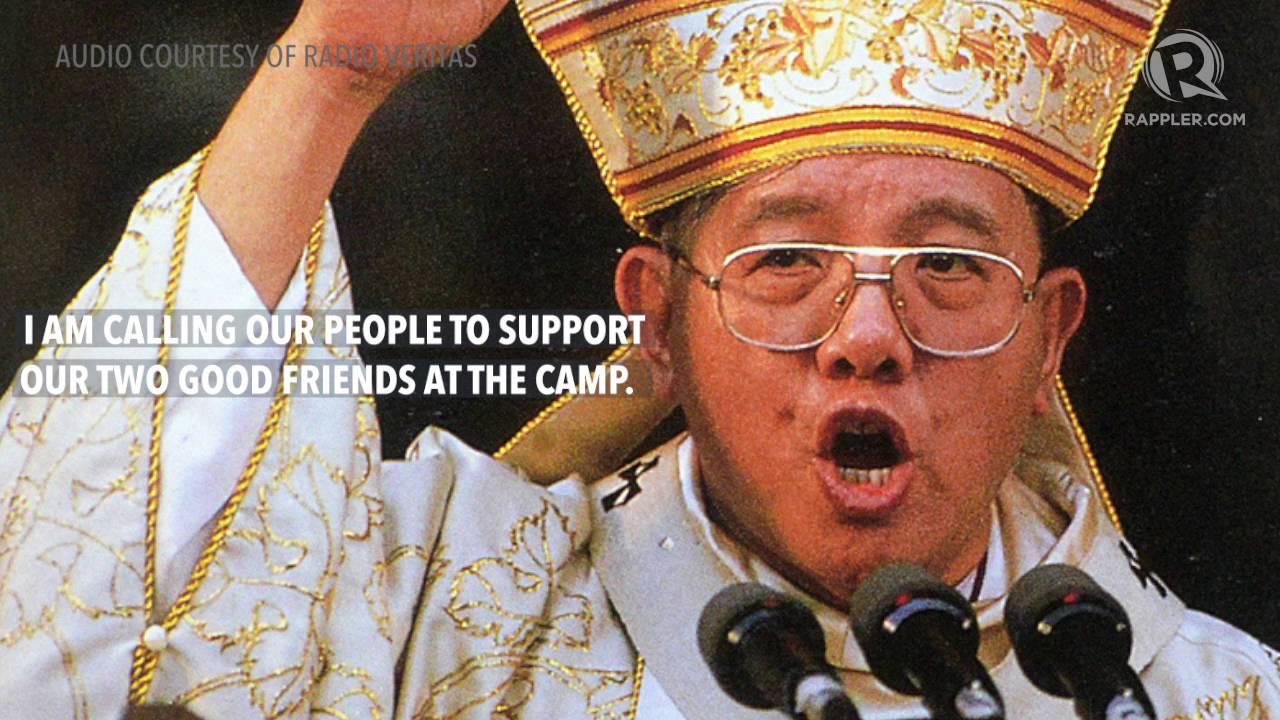 #EDSA30: Jaime Cardinal Sin urging people to go to EDSA