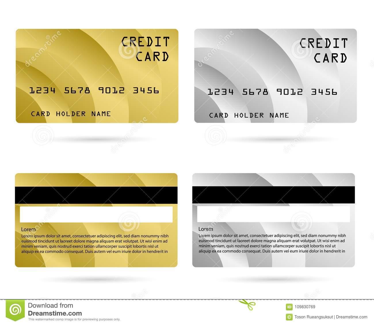 Modern credit card, business VIP card, design for privilege member, member  card