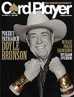 Doyle Brunson - Pokers Living Legend Vol. 19, No. 13 Card Player Magazine