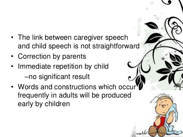 6. Page 6 • The link between caregiver speech