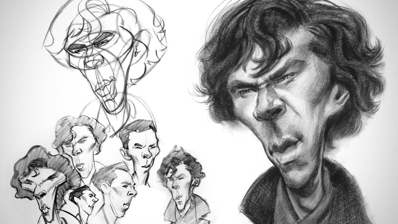 #BenedictCumberbatch #Caricature #FineArt