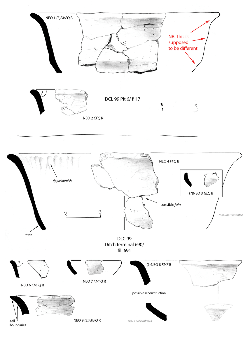 Early Neolithic Carinated Bowl from Drayton Quarry, Chichester