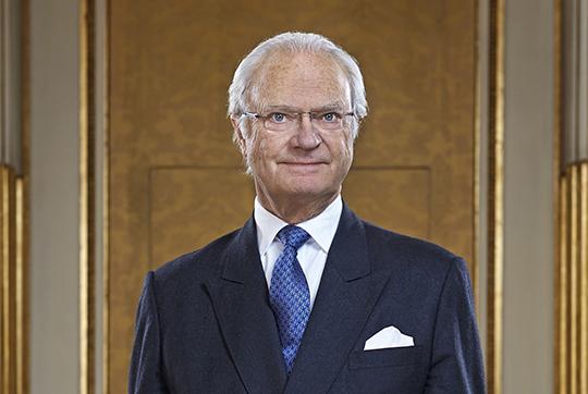 HM King Carl XVI Gustaf. Photo: Peter Knutson/Royal Court