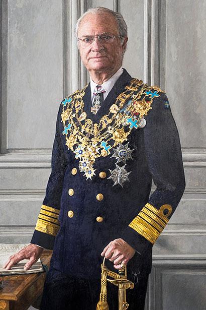 King Carl XVI Gustaf 1973-