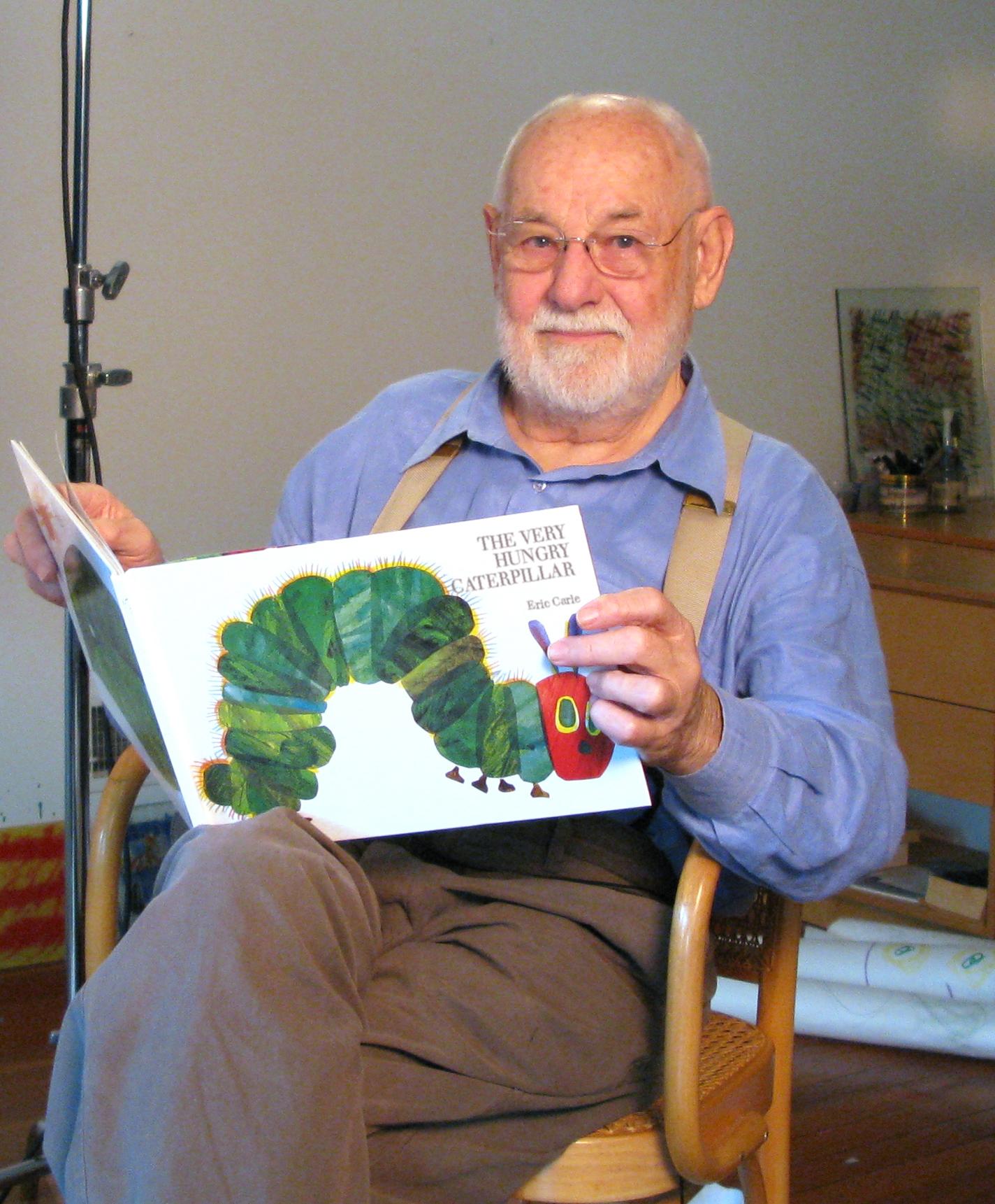 Eric Carle (Nueva York, 1929 – ) es un escritor e ilustrador de libros  infantiles estadounidense.
