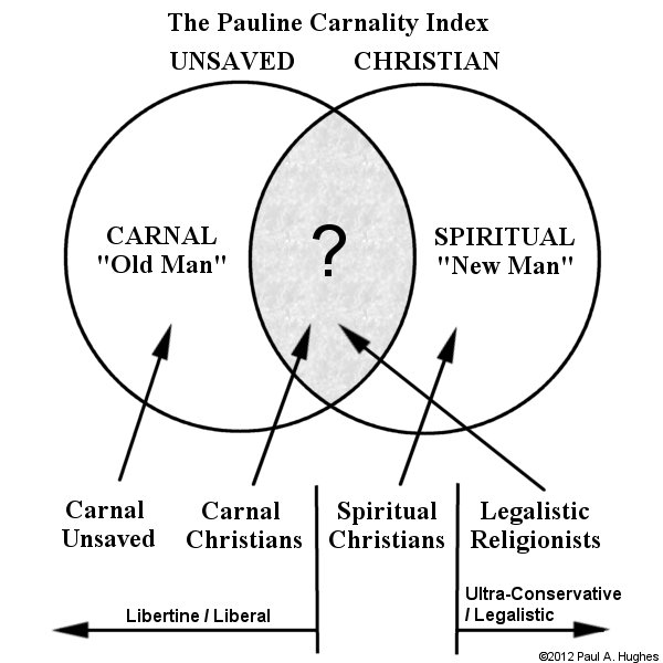 The Pauline Carnality Index