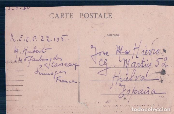 Postales: FRANCIA - EN LIMOUSIN,Je ne suis pas venu travailler hier,car