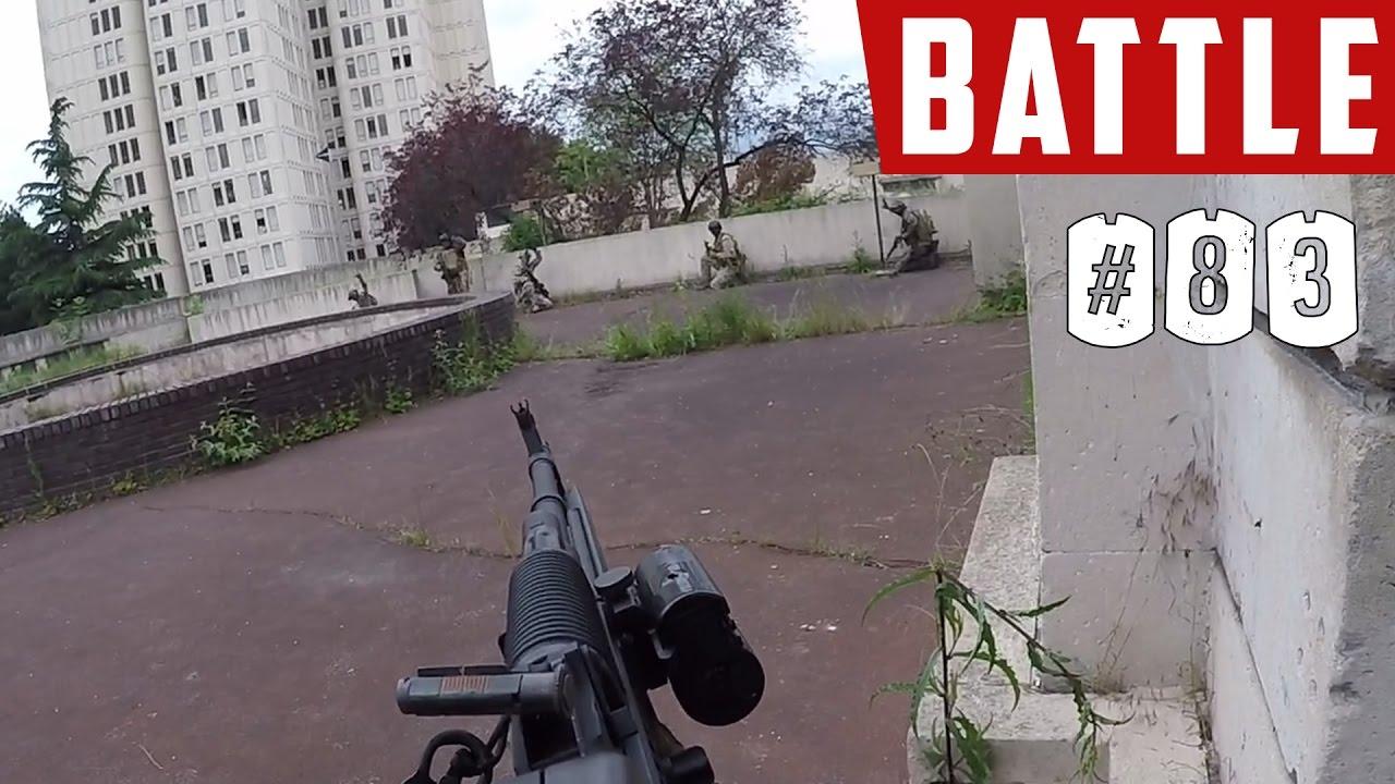 Airsoft Battle | Cyma RPK-74 AEG | Casern Begins