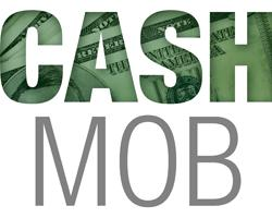 Más allá del crowdfunding, o de plataformas para apoyar inciativas  concretas como Traveller Location, nace una nueva manera de hacer activismo online:  el Cash mob.