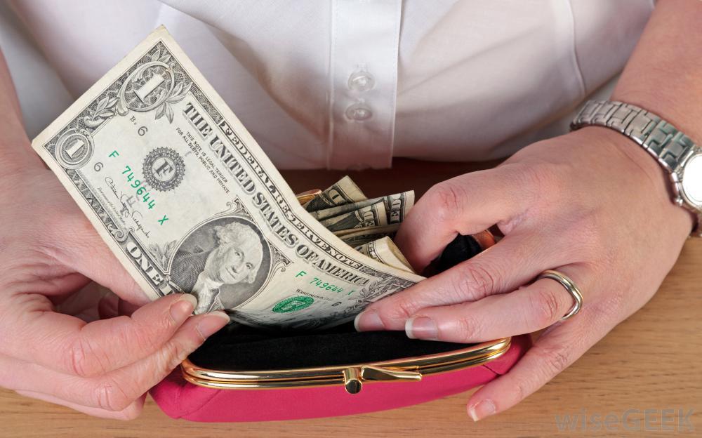 A check cashing service provides cash for checks.