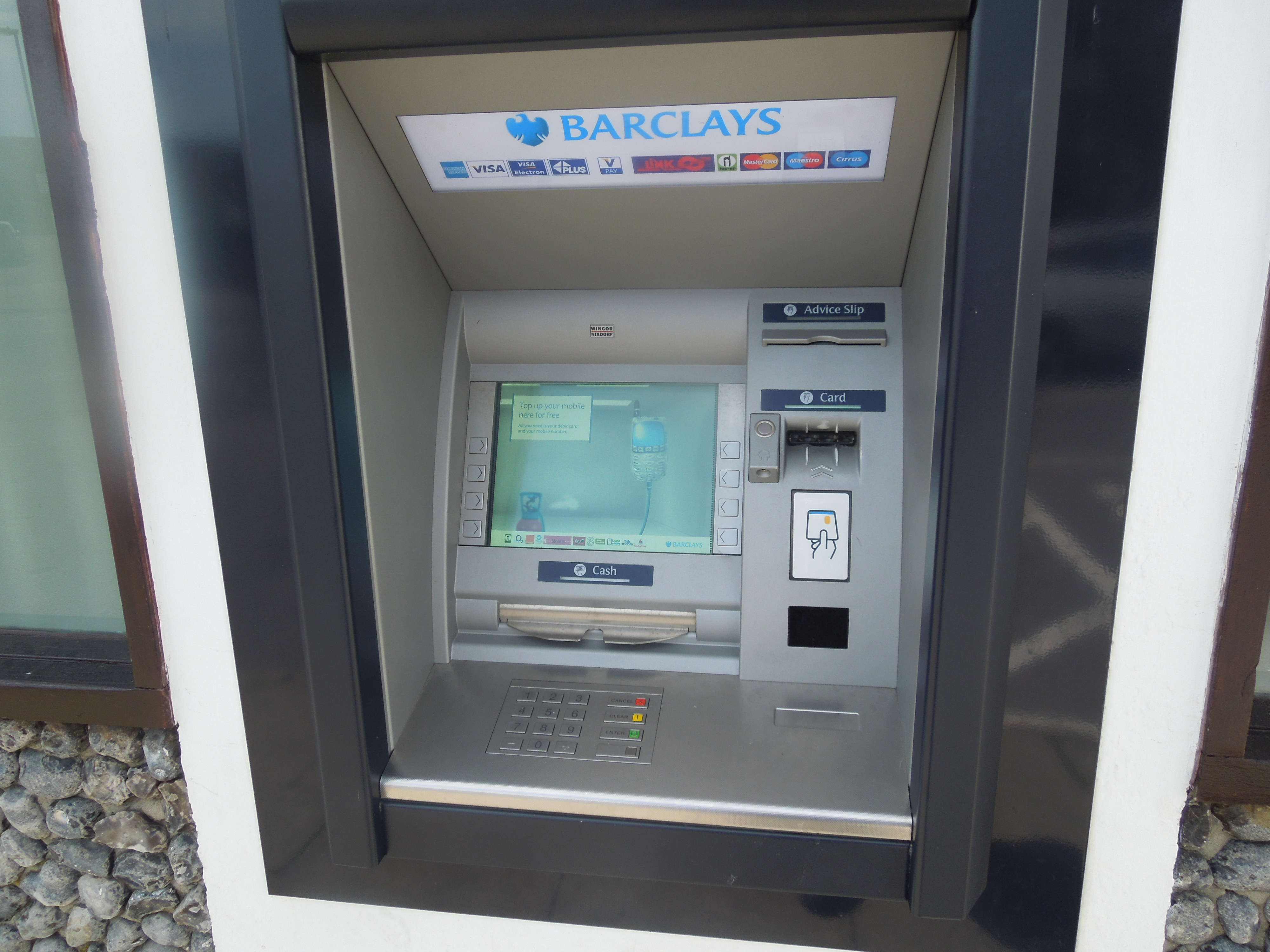 The Cleanest Cash Point In The World?