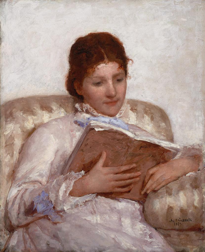 The Reader (1877), Crystal Bridges Museum of American Art