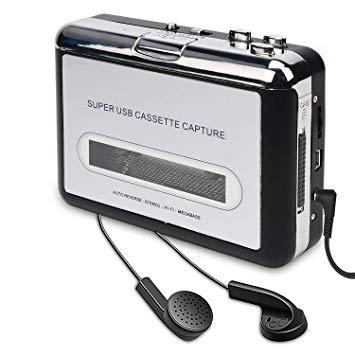 USB Convertidor y Reproductor de Cinta casetes,Convertir Audio Cassette a  MP3 Digital,para Grabar Cassette a mp3 en Windows o Mac: Amazon.es:  Electrónica