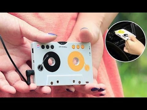 Cassette Car Audio Tape Player SDMMC Memory Card BY G H