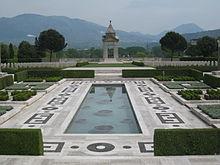 Inner part of Cassino War Cemetery.