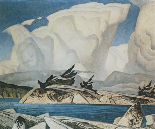 Thunderheads by A.J.Casson