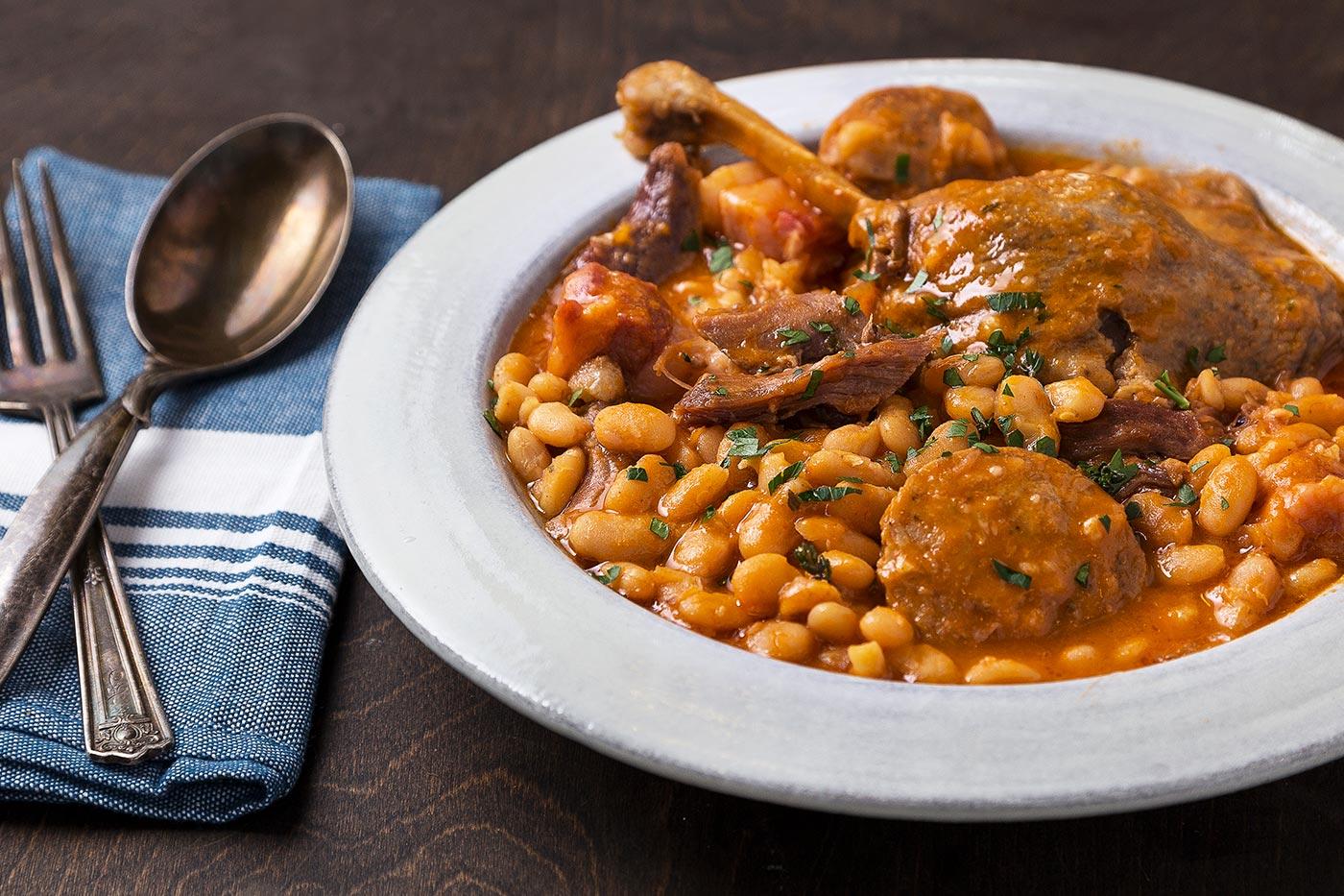Quick & Easy Instant Pot Cassoulet (Duck & White Bean Stew) Recipe |  Tasting Table