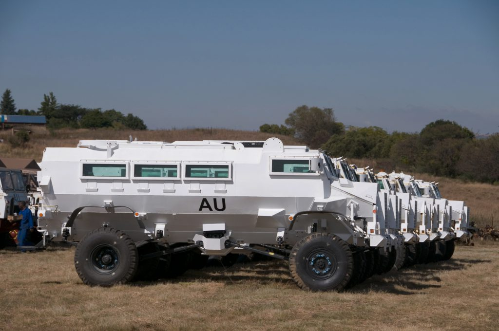 "Long-Range independence – the Casspir was designed to operate at the far  end of extended supply lines. It ""drives itself to work and back again""."
