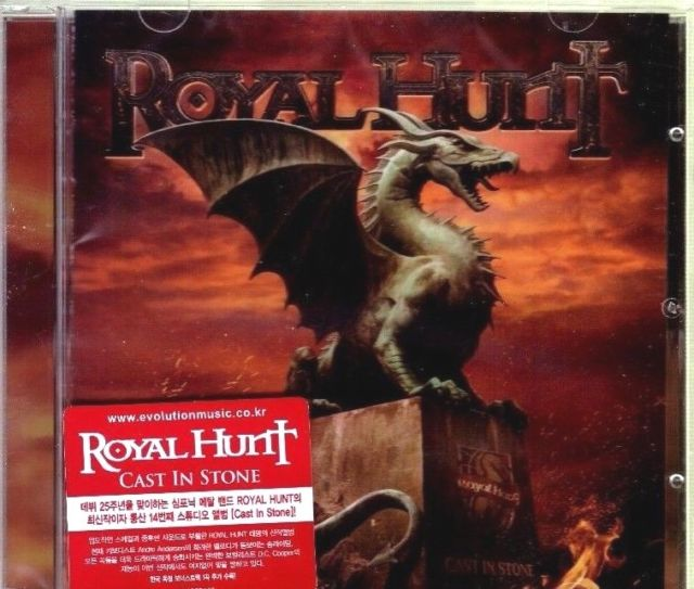 Royal Hunt - Cast In Stone Korea Import New Sealed CD