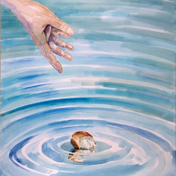 cast thy bread upon the waters